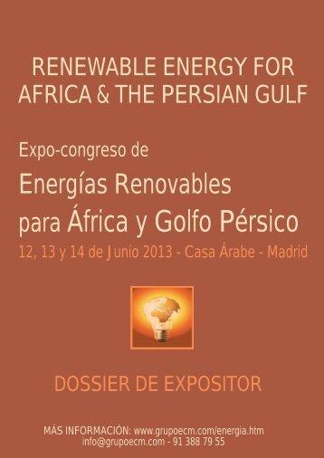 Dossier Expositor - Ecm European Conference Management