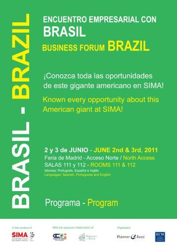 Encuentro Empresarial Brasil - Ecm European Conference ...