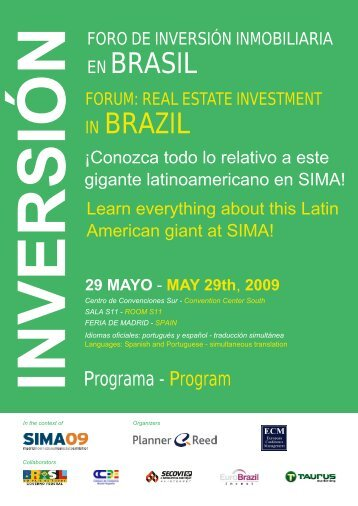 EN BRASIL IN BRAZIL - Ecm European Conference Management