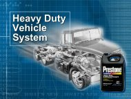Heavy Duty Vehicle System - Grupo Herres