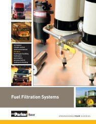 Fuel Filtration Systems - Parker Hannifin - Solutions for the Truck ...