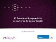 prScope 2011 Informe General - Grupo Consultores