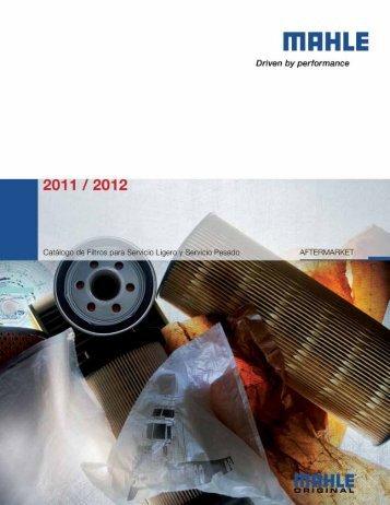 Catálogo Filtros - Grupo Herres