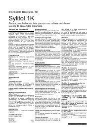 Ficha Técnica Sylitol Fixativ - grupo PINTURAS UVI