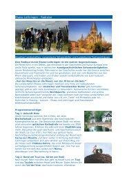 Elsass-Lothringen - Radreise - Gruppenreisen in Frankreich