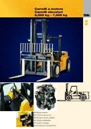 C a rrelli a motore C a rrelli elevatori 6,000 kg – 7,000 kg
