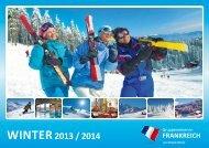 NEU: Unser Winterkatalog - Gruppenreisen in Frankreich