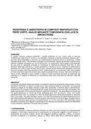 A. Bernasconi a, M. Broznic b, F. Cosmi b, D. Dreossi c, G. Tromba c