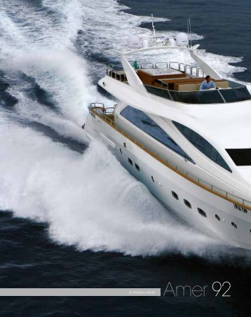 Amer 92 - Verme Yacht Projects