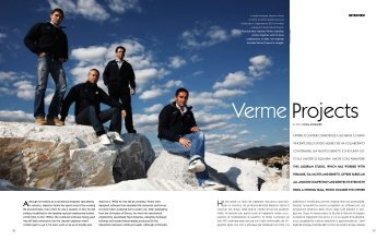 INTERVIEW - Verme Yacht Projects