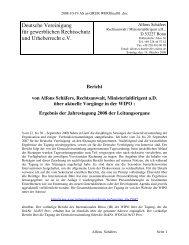 Bericht von Alfons Schäfers, Rechtsanwalt ... - GRUR