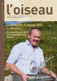 Ausgabe herunterladen - Le gruyère