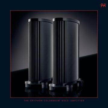 PDF Brochure Size - Gryphon Audio Designs