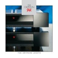 TH E GRYPHON LEGATO - Gryphon Audio Designs