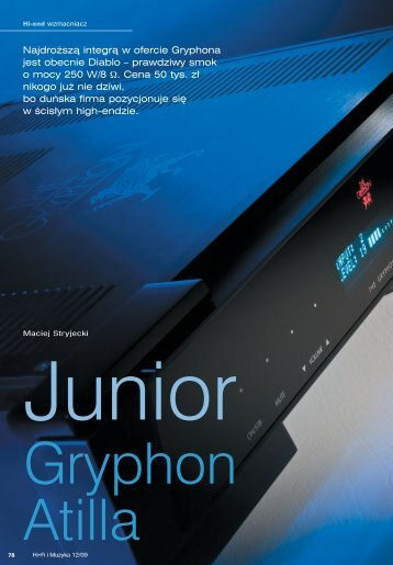78-84 Gryphon Atilla - Gryphon Audio Designs