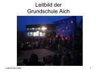 Leitbild April 2009 - Grundschule Aich
