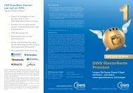 DWS RiesterRente Premium AVWL - 3fachvorsorgen.de