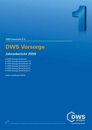 DWS Vorsorge Dachfonds