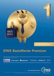 DWS BasisRente Premium