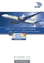 Der DCM Flugzeugfonds 3