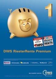 DWS RiesterRente Premium