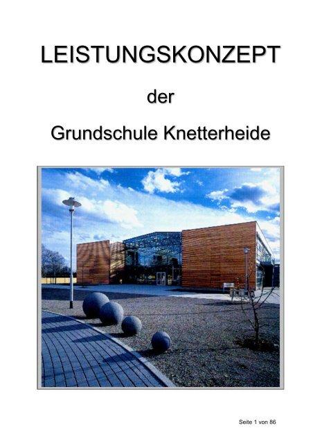 Download Leistungskonzept Der Gs Kn Grundschule Knetterheide