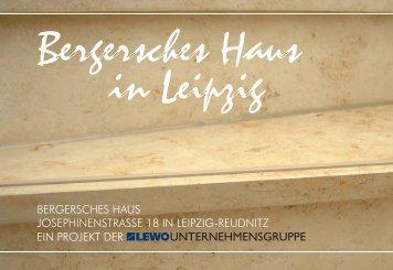 BERGERSCHES HAUS JOSEPHINENSTRASSE 18 IN LEIPZIG ...