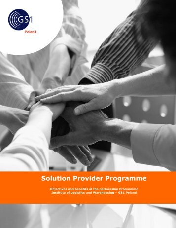 Solution Provider Programme - GS1
