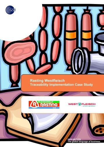 Meat Traceability - Rasting Westfleisch - GS1