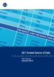 Trusted Source of Data Pilot Report (Full) - GS1