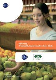 Traceability in Fresh Fruit & Vegetables - Anecoop (GS1 Spain)