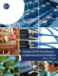Global GDSN Healthcare Implementation Initiative – Phase 2 ... - GS1