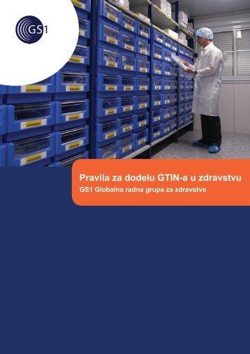 Pravila za dodelu GTIN-a u zdravstvu - GS1