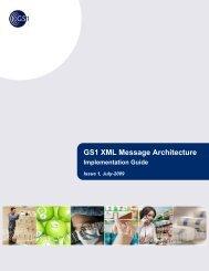 GS1 XML Message Architecture Implementation Guide