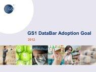 GS1 DataBar Adoption Goal