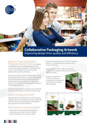 Collaborative Packaging Artwork brochure - GS1