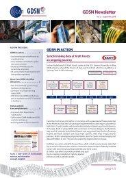 GDSN Newsletter No. 2 - GS1