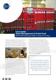 Case study : Asset Management in Fresh Food - GS1