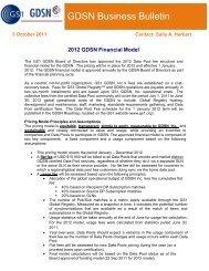 2009 GDSN Financial Model - GS1