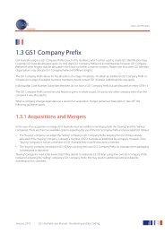 1.3 GS1 Company Prefix - GS1 Australia