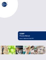 GSMP Process Manual, i2 - GS1