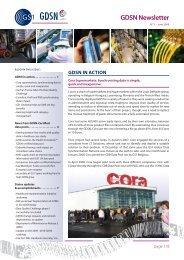 GDSN Newsletter No. 5 - GS1