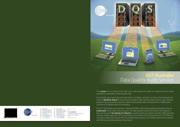 Data Quality Audit Service Flyer - GS1 Australia