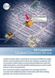 Location Directory Service - GS1 Australia