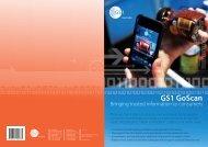 Download GS1 GoScan flyer- Bringing trusted ... - GS1 Australia