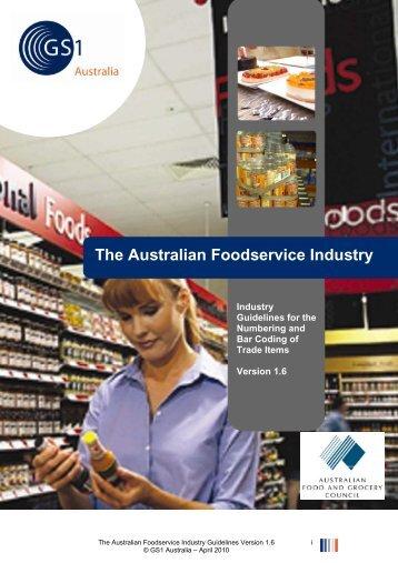 The Australian Foodservice Industry - GS1 Australia