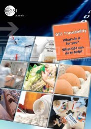 Traceability Brochure - GS1 Australia