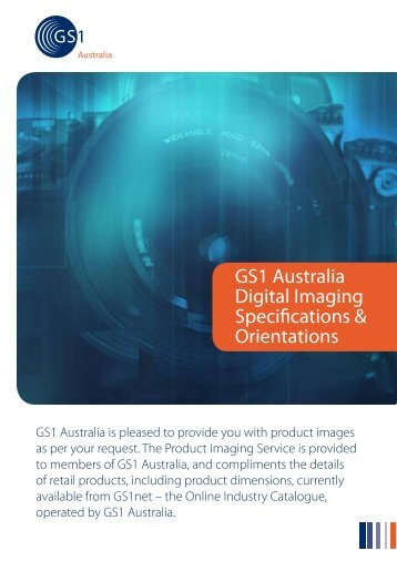 GS1 Australia Digital Imaging Specifications & Orientations