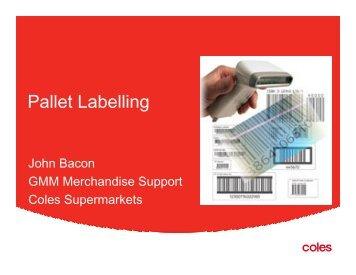 Pallet Labelling - GS1 Australia