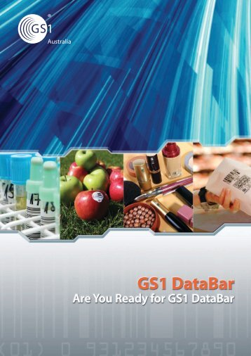 Download the latest GS1 DataBar Brochure - GS1 Australia